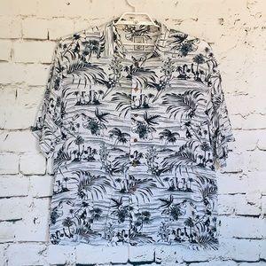Men's Roundtree & Yorke Caribbean Shirt Size XL